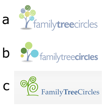We're working on a new logo for FamilyTreeCircles (http://familytreecircles.com) and so far we've narrowed it down to these three.  <br><br>Please focus mostly on the graphic, the text can easily be changed. <br><br>Which do you like best?